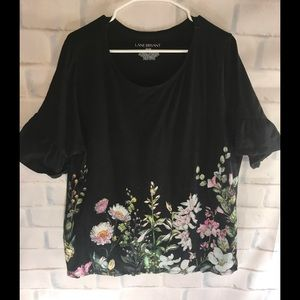 Lane Bryant floral blouse
